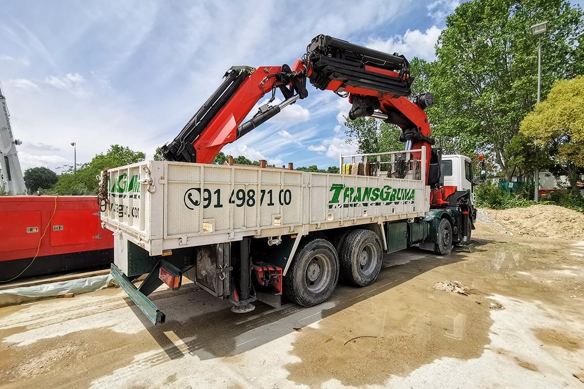 Camión grúa PK 100002 venta - 7