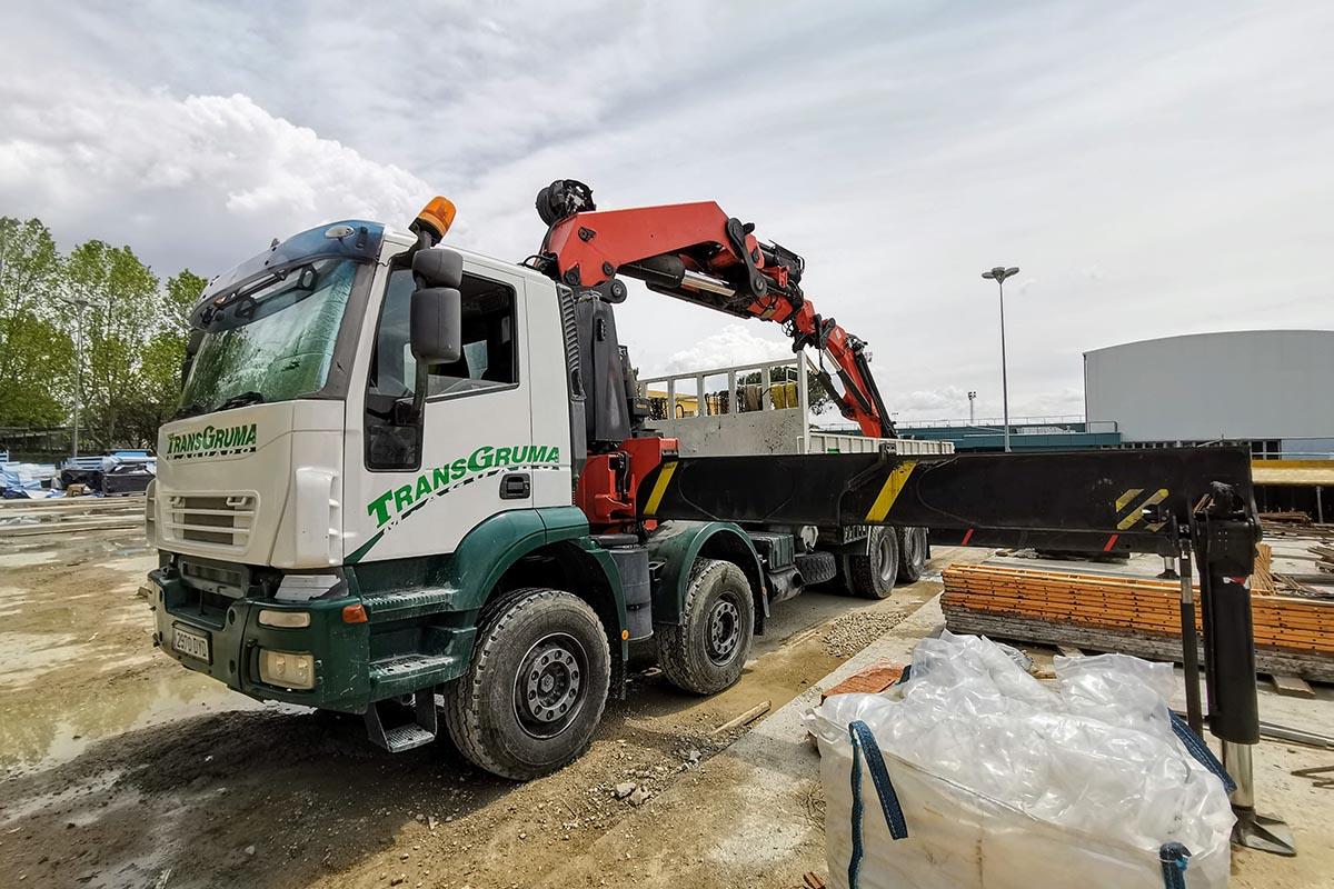 Camión grúa PK 100002 venta - 9