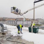 limpieza de nieve
