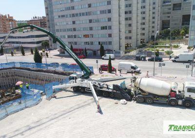 Autobomba de hormigon de 60 metros Cifa