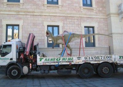Camion grua Portamaquinaria | Transporte