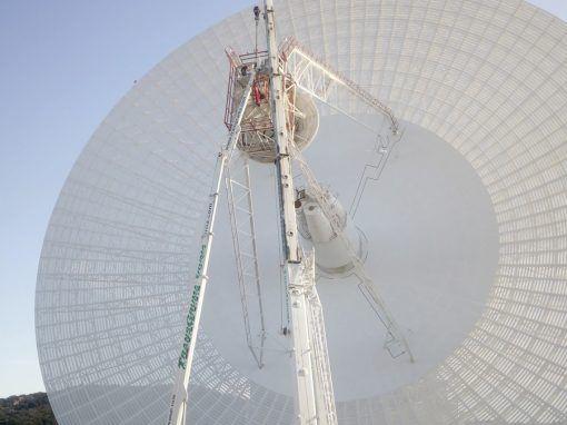 Medios de elevación – Complejo de Comunicaciones con el Espacio Profundo NASA.