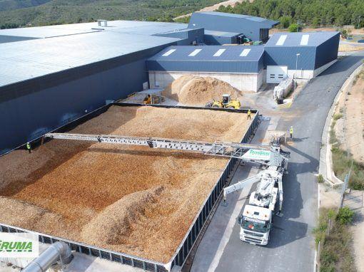 Distribución de biomasa | Telebelt 130