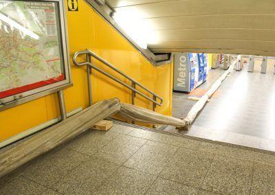 Bombeo de hormigón  | Metro Rubén Dario