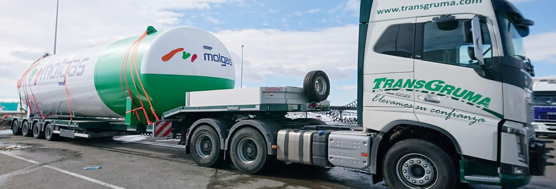 Plataformas elevadoras de personal sobre camion