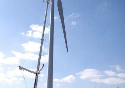 mantenimiento parque eolico | Grua 350 TM_11